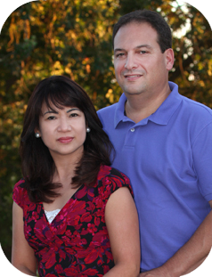 Rangi Giner and John Cimino, founders